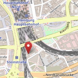 Bücherhallen Hamburg auf Open Street Map Karte